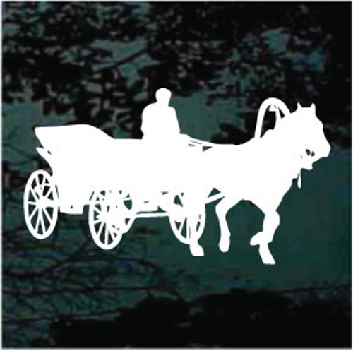 Solid Horse & Carriage