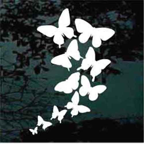 Butterflies Kaleidoscope Butterfly Decals For Windows