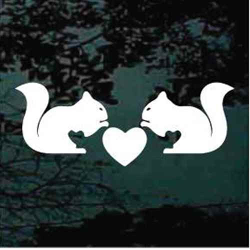 Squirrels With Heart