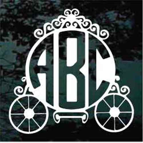 Carriage Circle Monogram