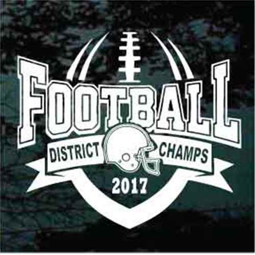 District Champs Football