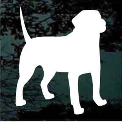 Black Mouth Cur Silhouette