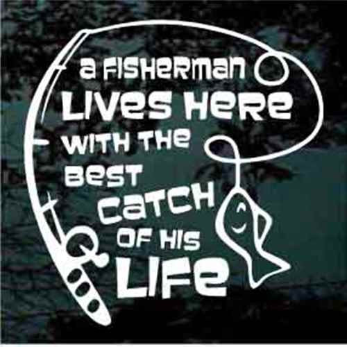 Fishing Quotes Gorgeous Fishing Quote Car Decals Window Stickers Decal Junky