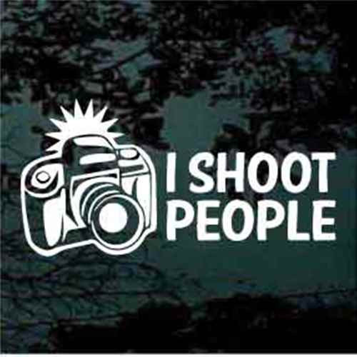 Photographer Camera I Shoot People