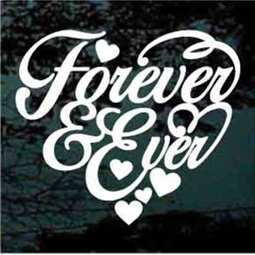 Forever & Ever Heart Quote