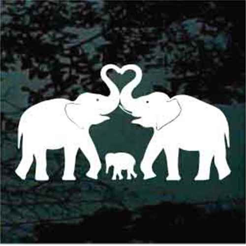 Elephant Family Heart