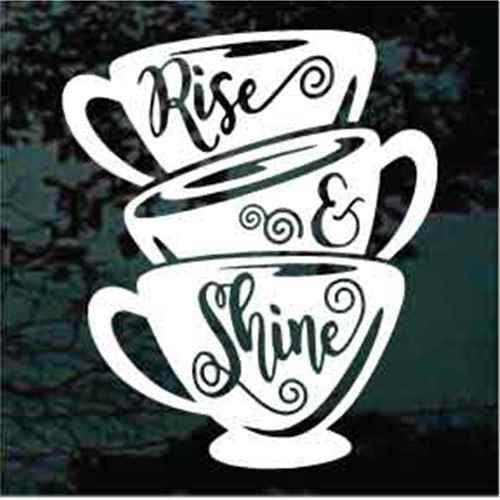 Coffee Cups Rise & Shine