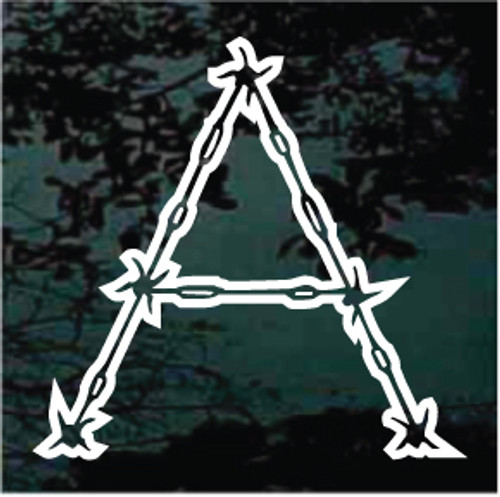 Barbed Wire Monogram