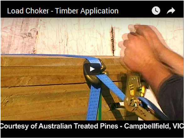 Load Chokers - Timber Application