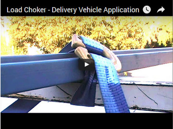 Load Choker - Delivery Vehicle Application