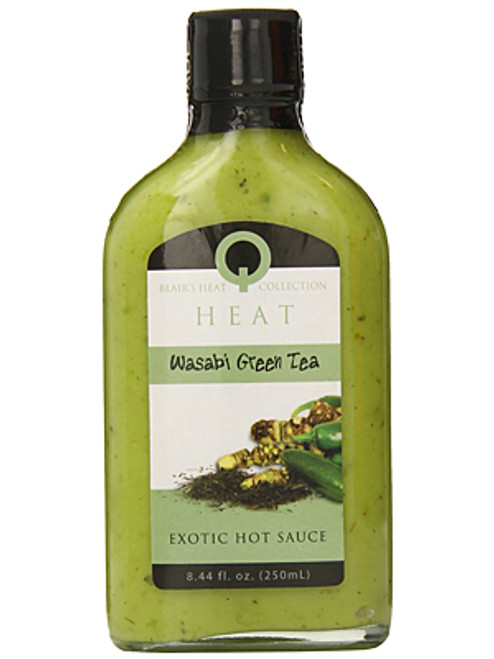 Blair's Q Heat Wasabi Green Tea Exotic Hot Sauce