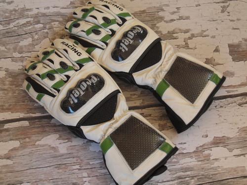 ProTek Ski Racing Green & White Stripe Glove