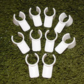 """10 pack of Lg Clip on Jump Cups for 1"""" & 1 1/4"""" pipe"""
