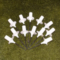 Screw-in-the-Ground Bases for Weave Poles- Set of 12
