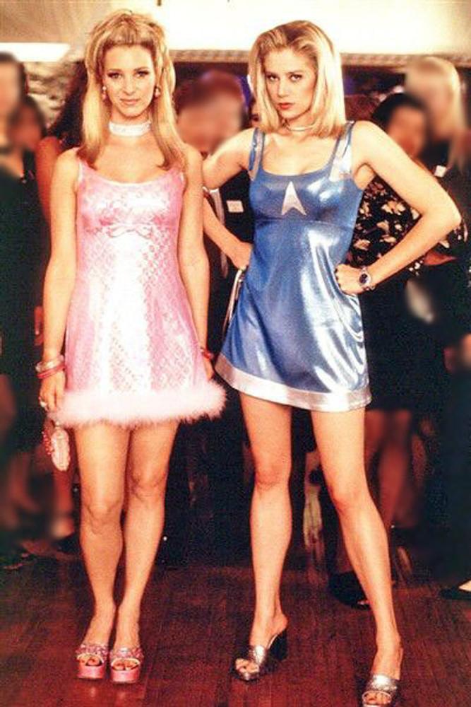 "Blue dress from ""Romy & Michele's High School Reunion"" movie"