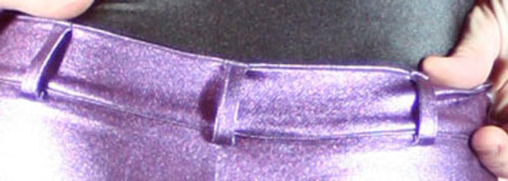 Optional Belt Loops.