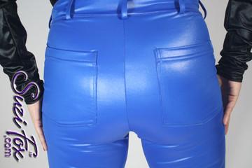 Optional rear patch pockets