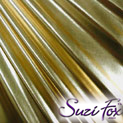 Gold Metallic Foil coated Spandex