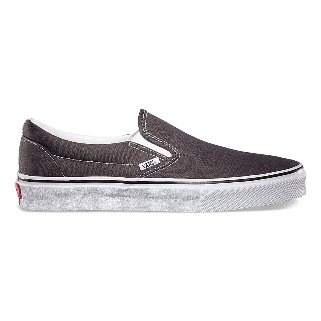 407144d63519ea Vans Shoes - Classic Slip-On - Canvas Charcoal - Surf and Dirt