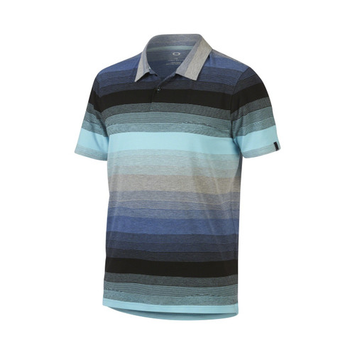 Oakley Shirt - Lateral Polo - Bright Cerulean