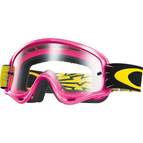 Oakley MX Goggles - O Frame XS - Pink/Clear