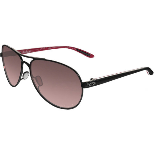 Oakley Womens Sunglasses - Feedback - Black/Rose Gradient