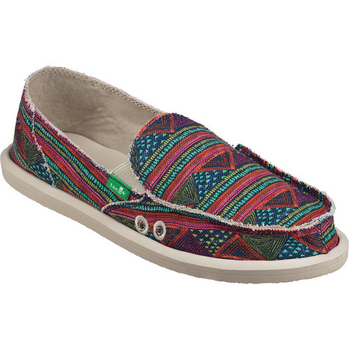 Sanuk Women's Shoes - Donna Geo Stripes - Multi Geo Stripes