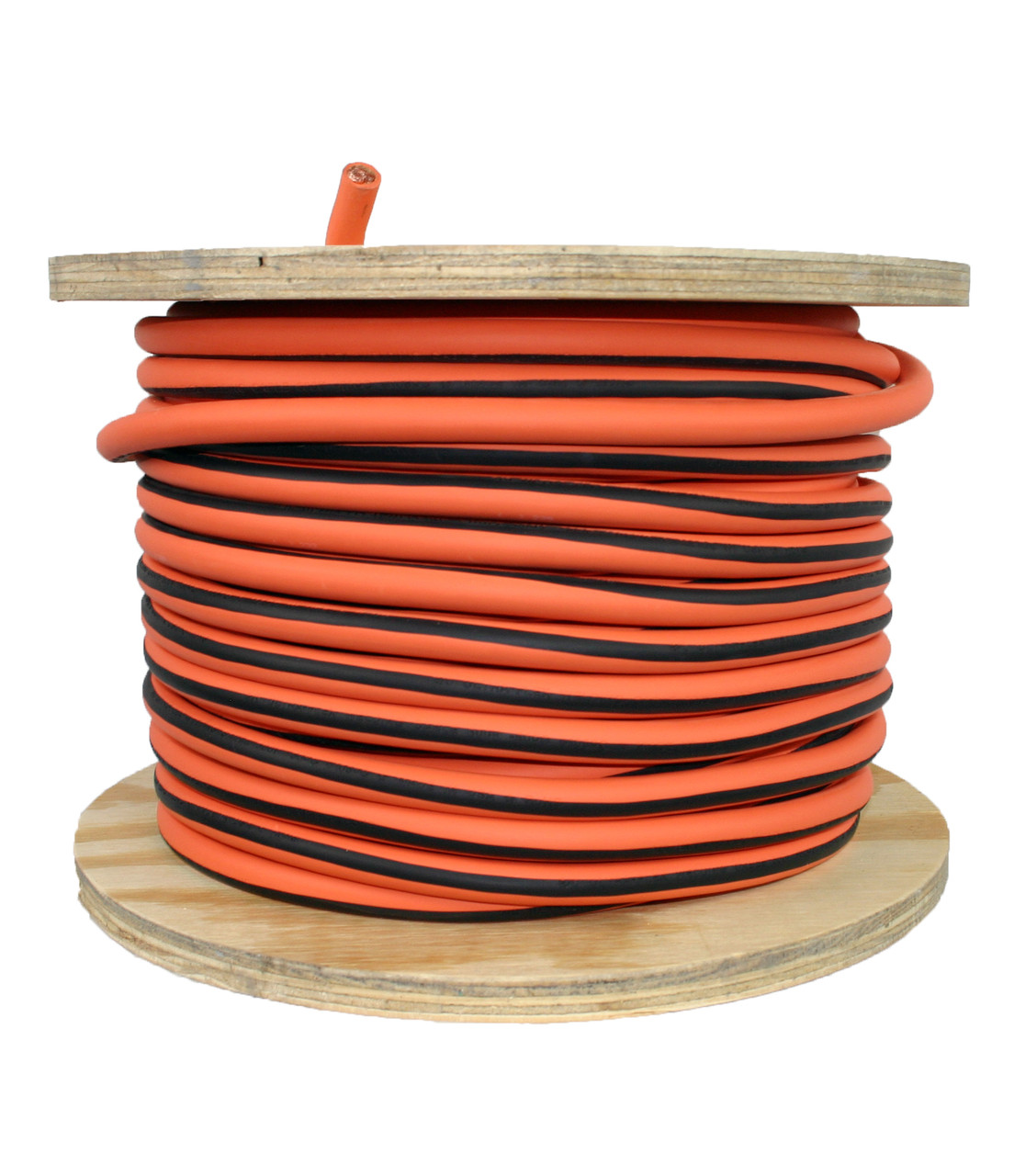 250 foot Ultra Flex orange welding cable ***FREE FREIGHT***