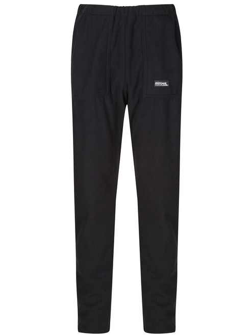 Bennachie Fleece Trousers - quick drying technical fleece with excellent wind and abrasion resistance.  Colour: Black.