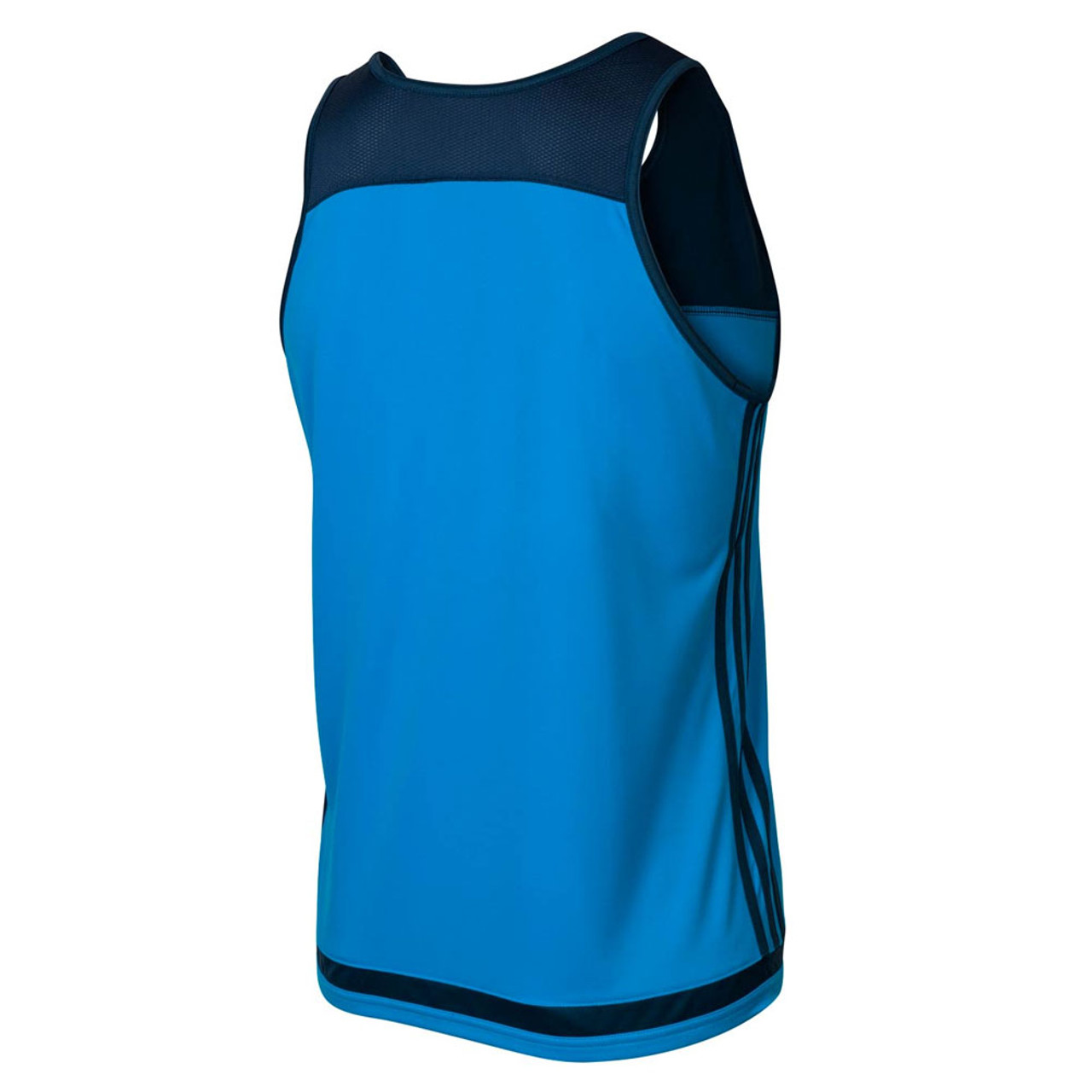 05069252379 ADIDAS blues rugby performance singlet [blue/navy]