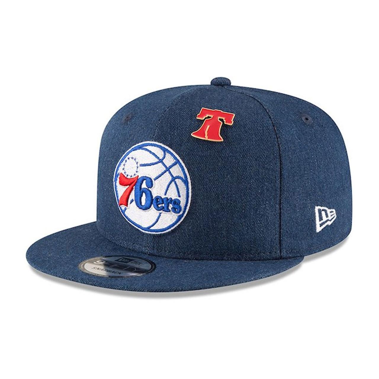 sports shoes 0e25e b95b1 NEW ERA philadelphia 76ers 9forty adjustable NBA basketball league cap   royal