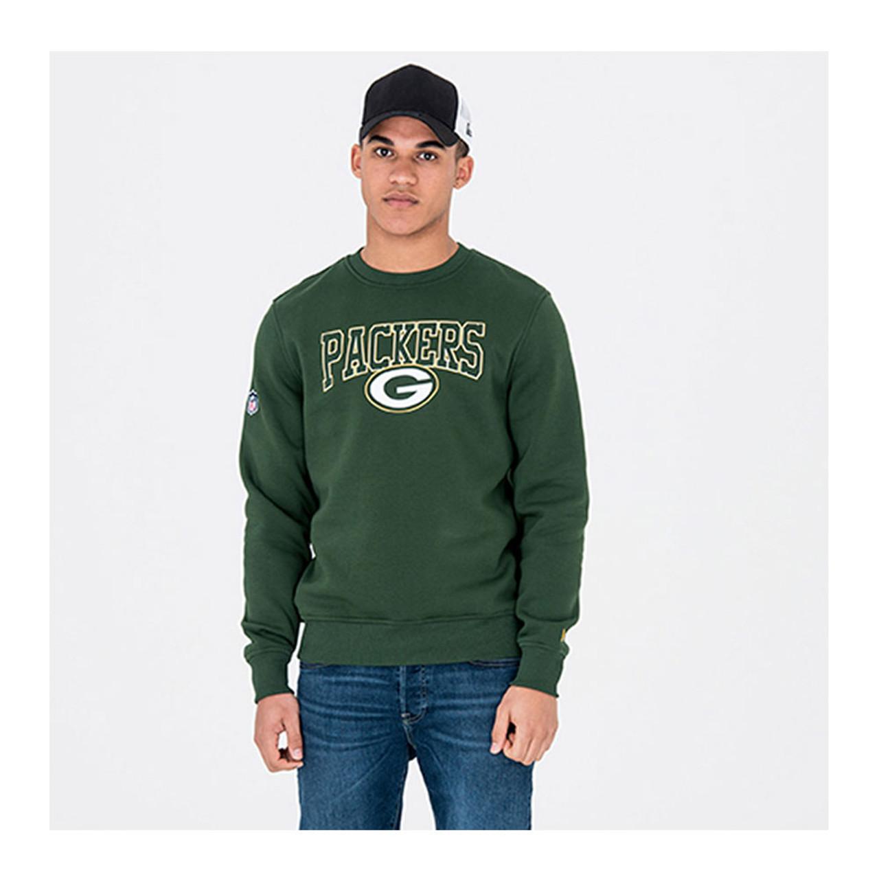 NEW ERA NFL Green Bay Packers Crew Neck Sweat  green  4f681f84d