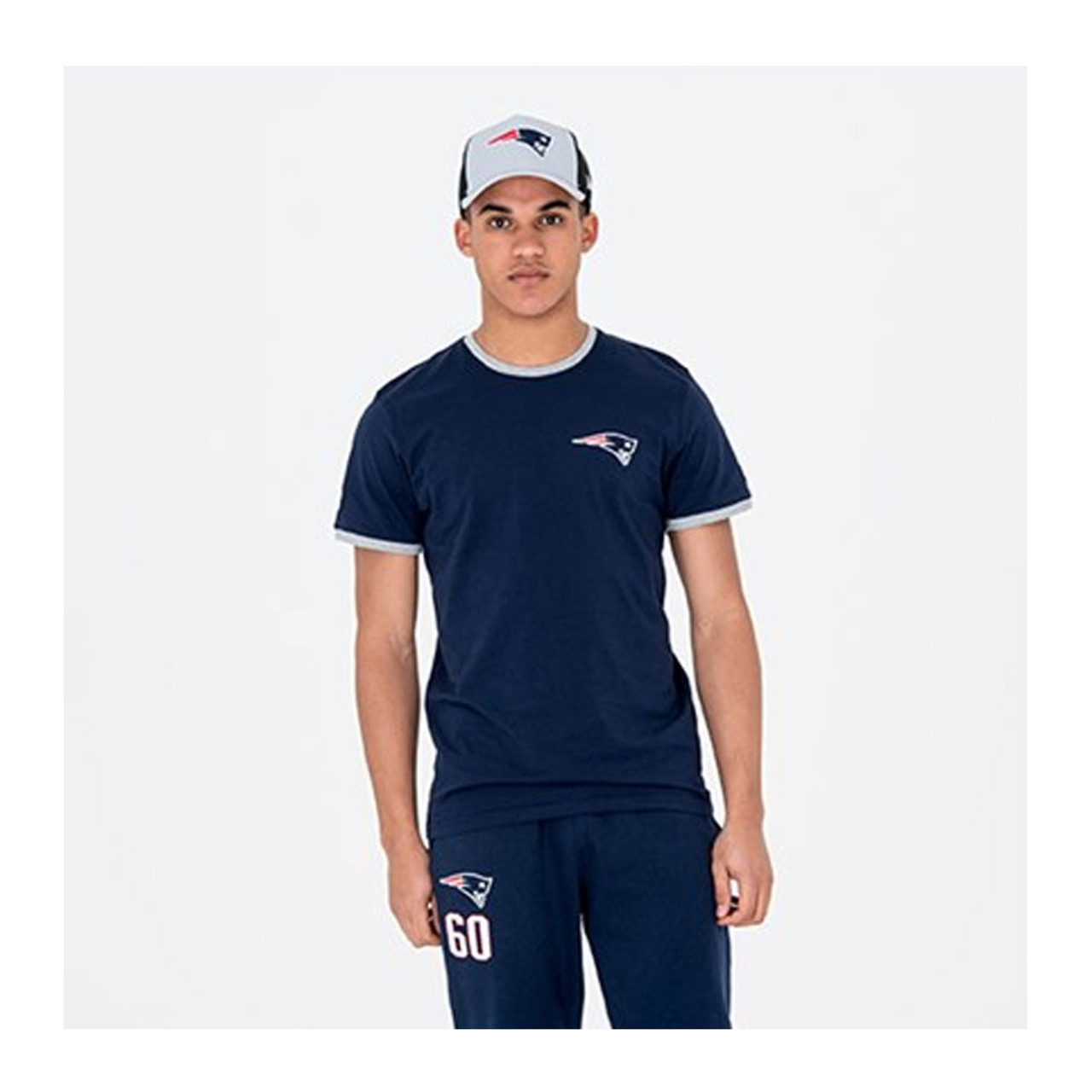 236a64931 NEW ERA New England Patriots Team NFL Tee Shirt  navy