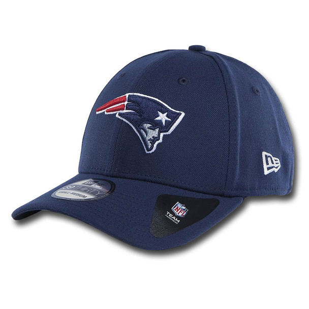 NEW ERA new england patriots 39thirty fitted american football cap [navy]
