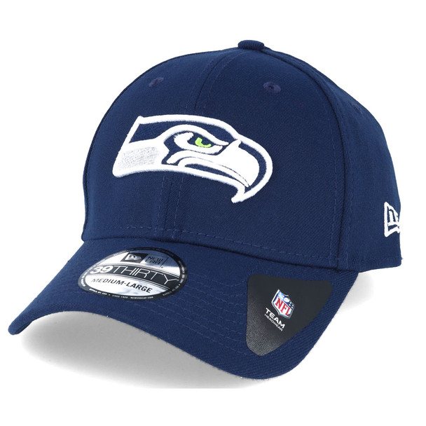 NEW ERA seattle seahawks 39thirty fitted american football cap [navy]