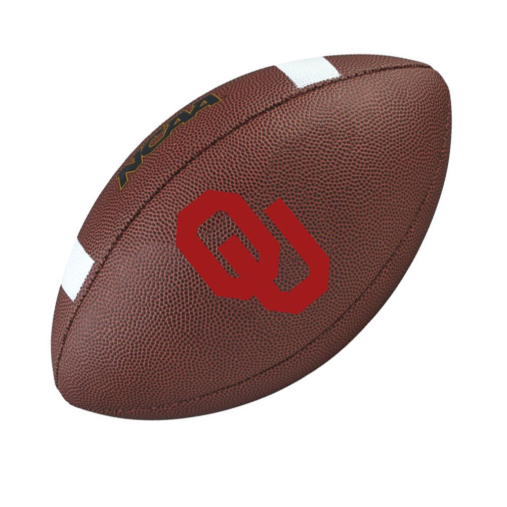 Détails sur Wilson D'Oklahoma Sooners NCAA Officiel Senior Composite Football Américain