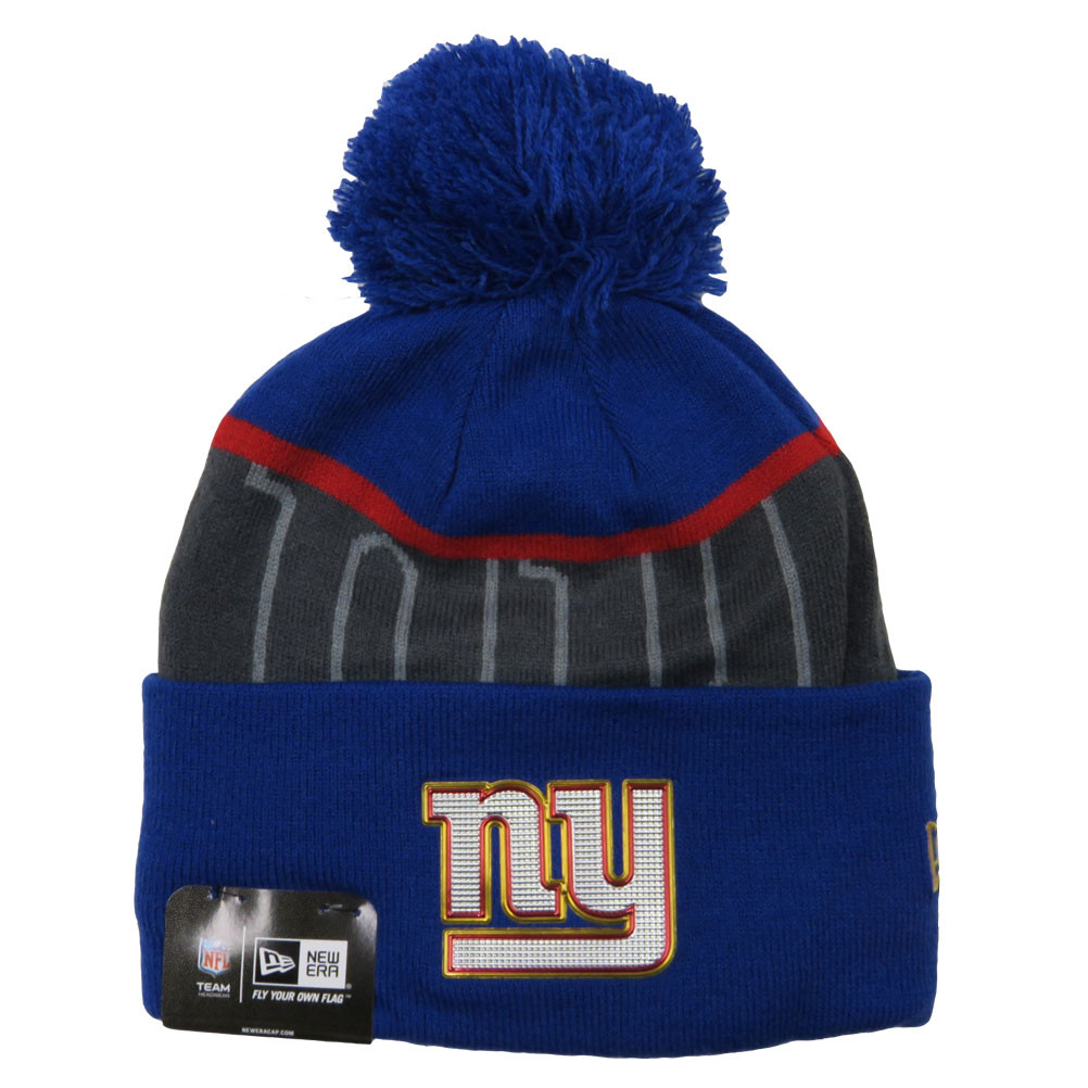 67b21973580 ... real image is loading new era new york giants nfl bobble beanie 90ef8  83009