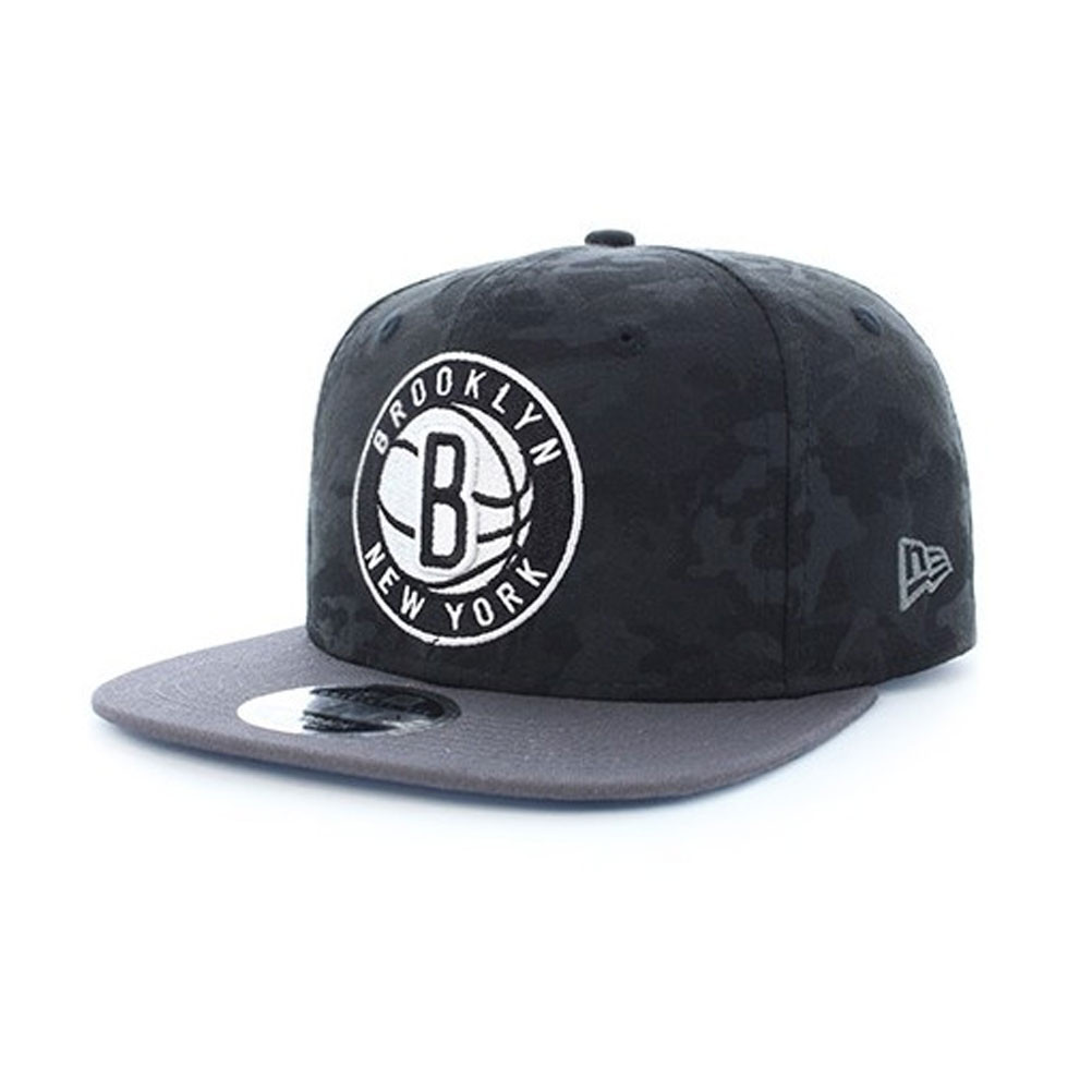 5d6b60d3c26 NEW ERA nba team 9fifty brooklyn nets cap  black  885433983690