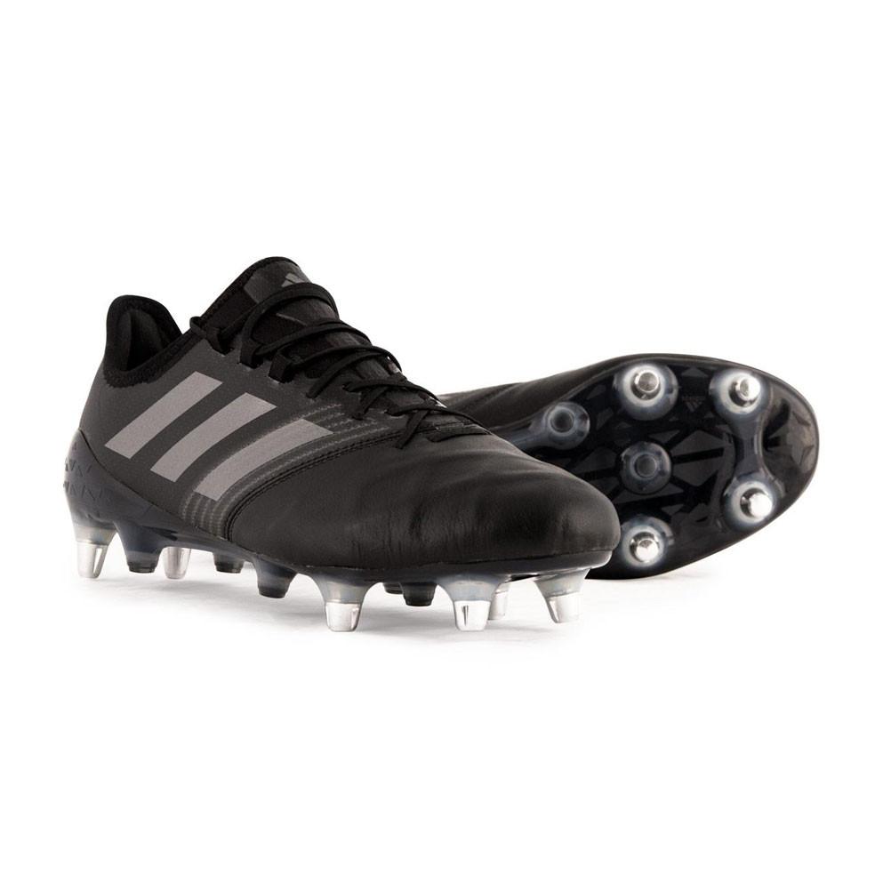 2c0b59c4f75 ADIDAS core kakari light sg rugby boots  black  4058025476085