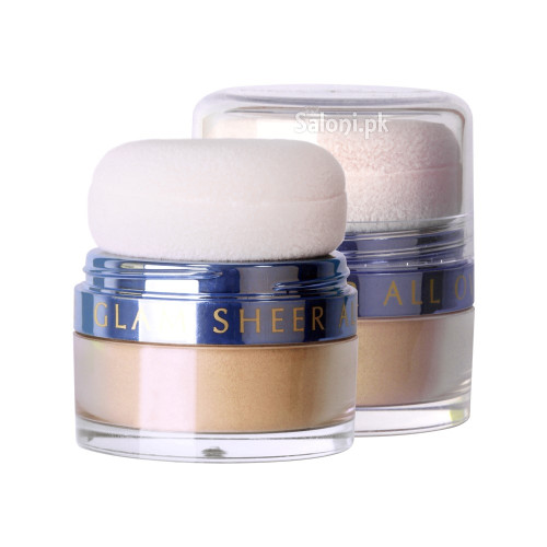 Diana Glam Sheer All Over Loose Powder 01 Gold Sheer buy online in Pakistan best price original product