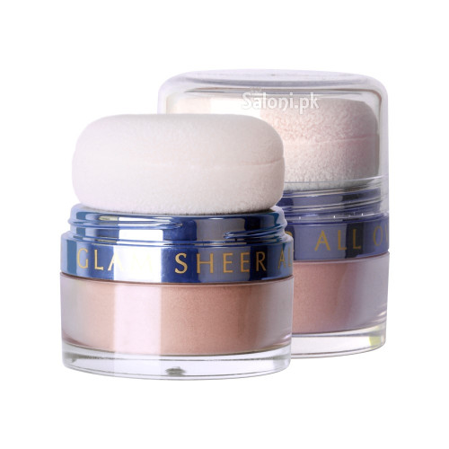 Diana Glam Sheer All Over Loose Powder 02 Silver Sheer buy online in Pakistan best price original product