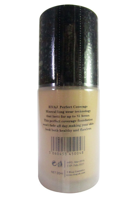 Rivaj UK Perfect Coverage Mineral Foundation Classic Ivory 30 ML best makeup foundation in pakistan