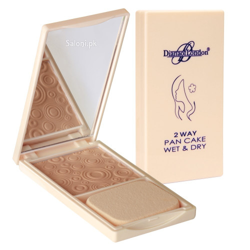 Diana 2 way Pan Cake Wet & Dry Powder Foundation 111 Delicate Rose Buy online in Pakistan best price original product