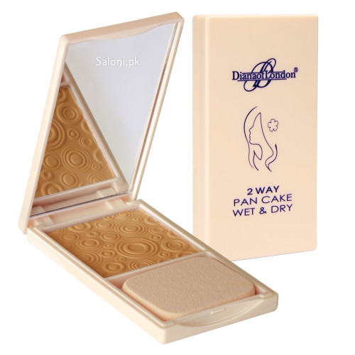 Diana 2 way Pan Cake Wet & Dry Powder Foundation 113 Soft Peach Buy online in Pakistan best price original product