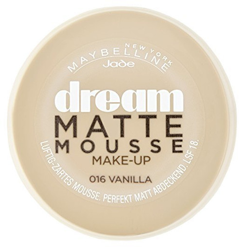 Maybeline Dream Matte Mousse Foundation Vanilla 16 Buy Online In Pakistan Best Price Original Product