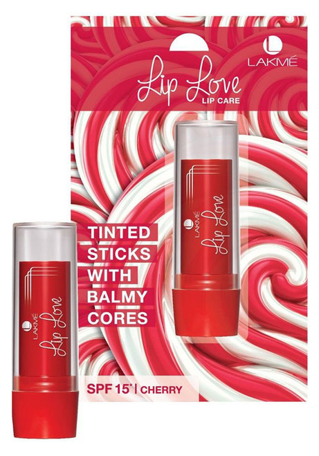 Lakme Lip Love Lip Care SPF 15 Cherry  Original Product
