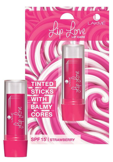 Lakme Lip Love Lip Care SPF 15 Strawberry  Buy Online In Pakistan Best Price