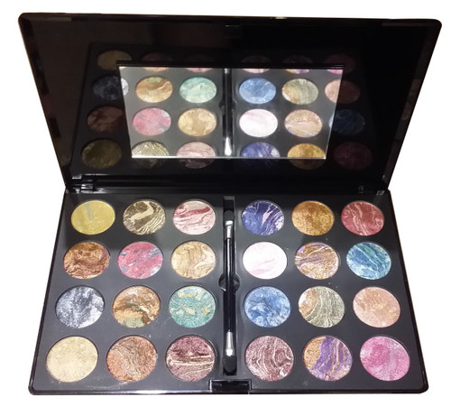 Christine Dazzling Terracota Eyeshadow Kit 24 Shades