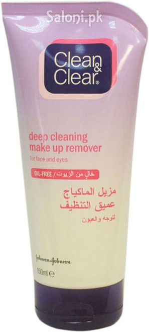 Clean & Clear Deep Cleaning Make Up Remover 150 ML Buy Online In Pakistan Best Price Original Product