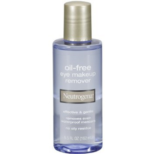 Neutrogena Oil-Free Eye Makeup Remover Cleansing 5.5 OZ (162 ML)  Front